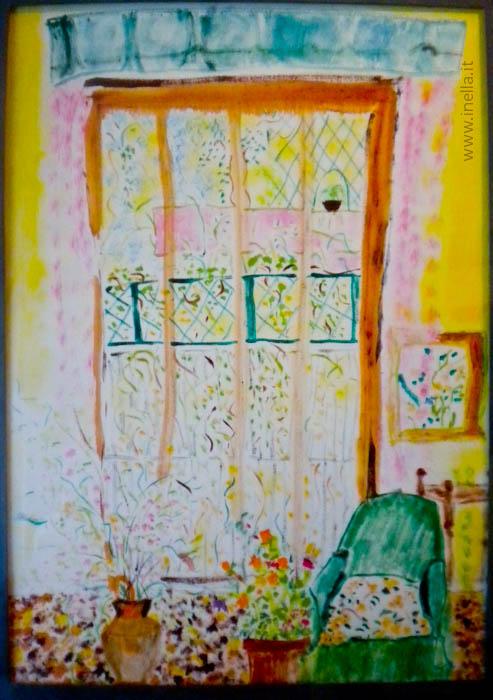 Porta Finestra Inella Quadri Arte