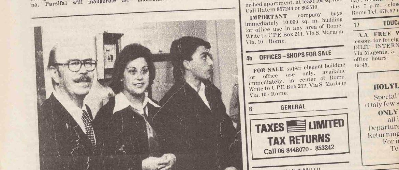 Articolo dailly american 2 dic 1978
